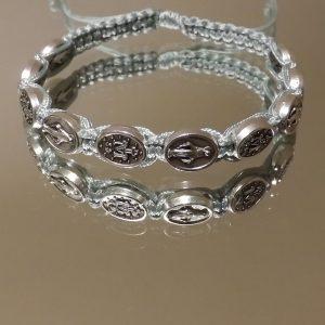 Silver miraculous bracelets