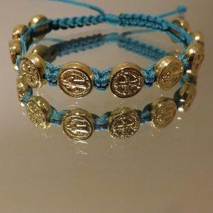 St.Benedict Gold Medal Bracelets